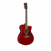 Гитара электроакустическая YAMAHA FSX800C RUBY RED