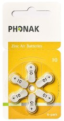 Phonak A10 Zinc-air